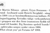 Big Session bio/info