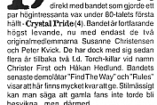 Crystal Pride Demo '95 review (Backstage #27, 1995)