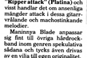 Maninnya Blade review 1985