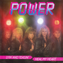 Lyin' and Teasin' / Heal My Heart Front