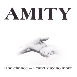 One Chance / I Can't Stay No More Front