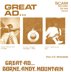 Great Ad... /  Borne, Andy, Mountain  Front