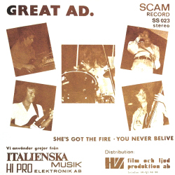 She's Got The Fire / You Never Believe Front
