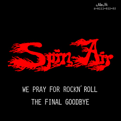 We Pray For Rockn' Roll / The Final Goodbye Front