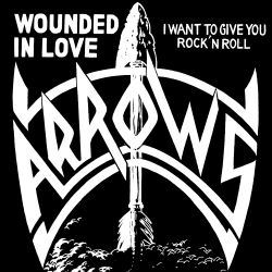 Wounded in Love / I Want To Give You Rock 'N' Roll Front