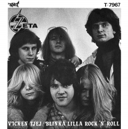 Vicken Tjej / Blinka Lilla Rock 'N' Roll Front