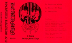 3 Track Heavy Metal Tape [Red] Front