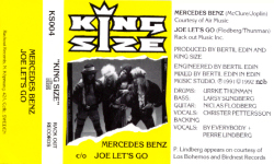 Mercedes Benz / Joe Let's Go [MC] Front