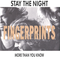 Stay The Night / More Than You Know Front