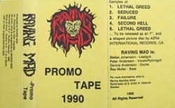 Promo Tape 1990 Front